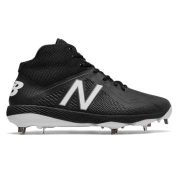 Elements Pack Mid-Cut 4040v4 Metal Cleat, Team Black with Black