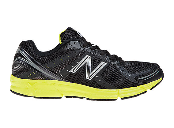 New Balance 470, Black with Yellow