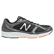 New Balance 480v3, Grey with Orange