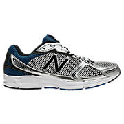New Balance 480v3, Silver with Blue
