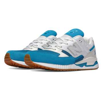 New Balance 530 Summer Waves, Teal with White
