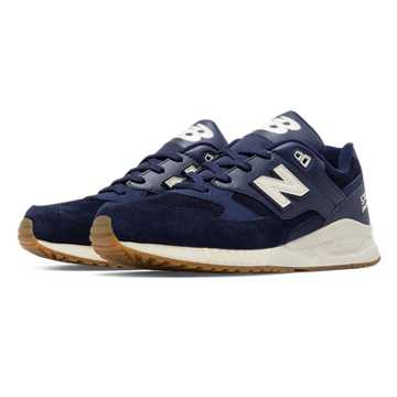 New Balance 530 90s Running Solids, Navy