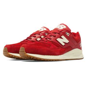 New Balance 530 90s Running Solids, Red