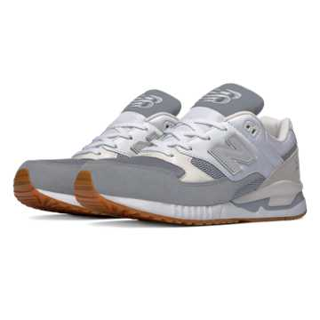 New Balance 530 Summer Waves, Grey with White