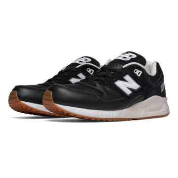 New Balance 530 Athleisure X, Black with Sea Salt