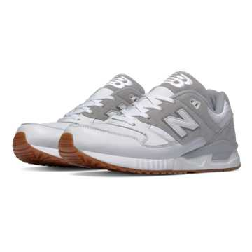 New Balance 530  90s Traditional, White with Grey