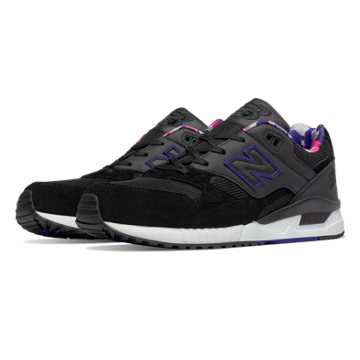 New Balance 530 90s Camo, Black with Spectral