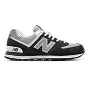 New Balance 574, Navy with Grey