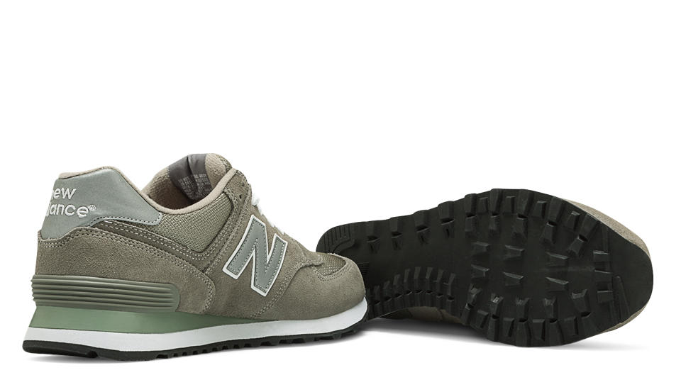 new balance 574 grey mens