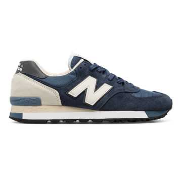 New Balance 575 Made in UK, Dark Blue with Light Blue
