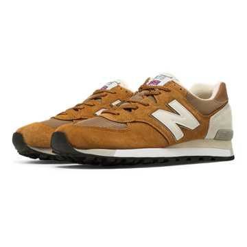 New Balance 575 Made in UK, Rust with Light Grey