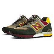 Limited Edition Three Peaks 576, Khaki with Yellow & Burgundy