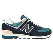 25th Anniversary 576, Navy with Teal