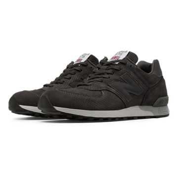 New Balance 576 Made in UK Nubuck, Dark Grey