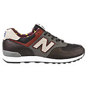 New Balance 576, Grey with Red