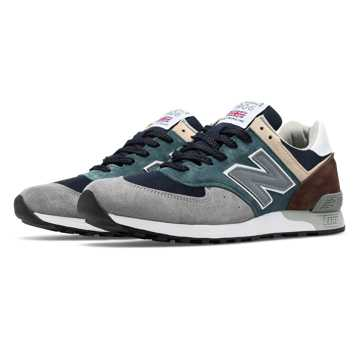 New Balance 576 Made in UK Surplus, Teal with Grey & Black