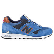 New Balance 577, Blue with Tan