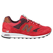 New Balance 577, Red with Tan