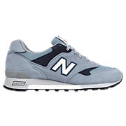 New Balance 577, Light Blue with Navy