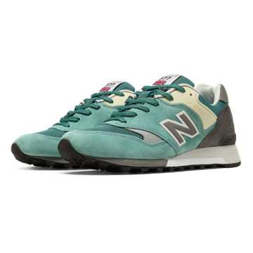 New Balance 577 Made in UK English Tender, Sea Glass with Off White & Light Grey