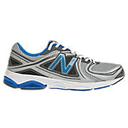 New Balance 580v3, Silver with Blue