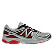 New Balance 580v3, Silver with Red