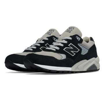 New Balance 585 Made in the USA Bringback, Navy with Grey