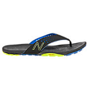 Minimus Vibram Thong, Black with Blue & Yellow