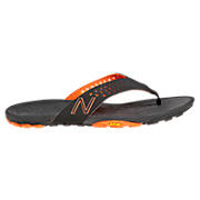 Minimus Vibram Thong, Black with Orange