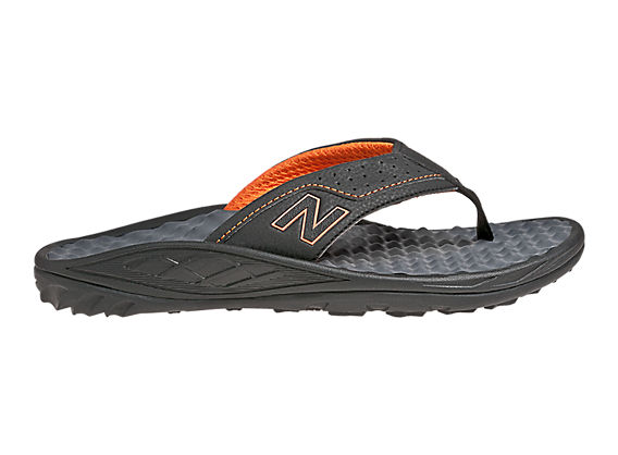 New Balance 6033, Black with Orange
