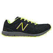 New Balance 630v2, Black with Neon Green & Yellow