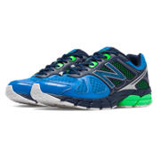 New Balance 670v1, Electric Blue with Chemical Green & Black