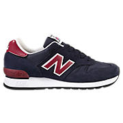 New Balance 670, Navy with Red