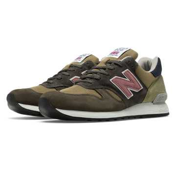 New Balance 670 Made in UK Surplus, Grey with Beige & Green