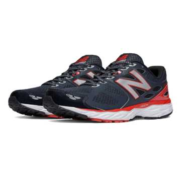 New Balance New Balance 680v3, Outer Space with Chinese Red