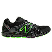 New Balance 750v2, Black with Green