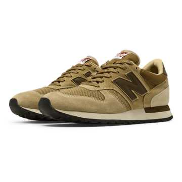 New Balance 770 Made in UK Suede, Beige with Oatmeal