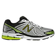 New Balance 770v2, Silver with Lime Green & Black