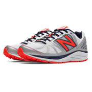 New Balance 770v5, Silver with Orange