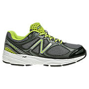 New Balance 840v2, Black with Grey & Lime Green
