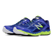 NB New Balance 860v6, Blue with Lime Green