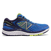 New Balance 860v7, Blue with Yellow