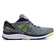 New Balance 860v7, Grey with Yellow