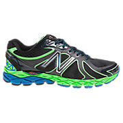 New Balance 870v3, Black with Green & Blue