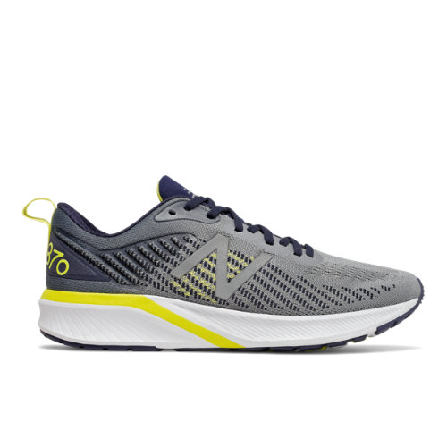 If you want support in a snappy package, then lace up the 870v5 men\\\'s running shoes.