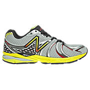 New Balance 870v2, Silver with Yellow & Black