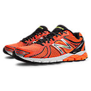 New Balance 870v3, Orange with White & Black