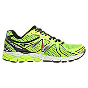 New Balance 870v3, Yellow with Black & Silver
