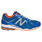 New Balance 880v2, Blue with Orange & White