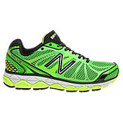 New Balance 880v3, Green Gecko with Yellow & Black